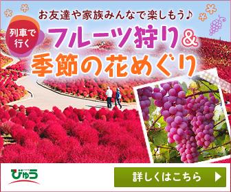 フルーツ狩り・季節の花特集 びゅうトラベル
