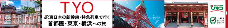 東京観光・横浜観光なら、びゅうの「TYO」